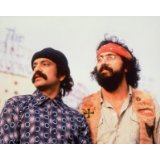 Cheech Marin de Cheech/Dwayne 'Red' Mendoza et Tommy Chong de Chong in Cheech & Chong's Next Movie 25x20cm Photo...